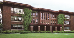 Grawn Hall as it appeared in the early 20th Century. (Courtesy: Central Michigan University)