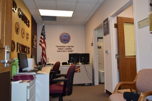 Photo of the Veteran Resource Center at Central Michigan University.