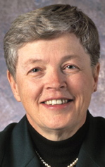 Lou Anna Kimsey Simon is the president of Michigan State University.